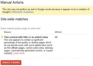 ما هي عقوبات جوجل اليدوية ,وما هى انواعها ؟ seo