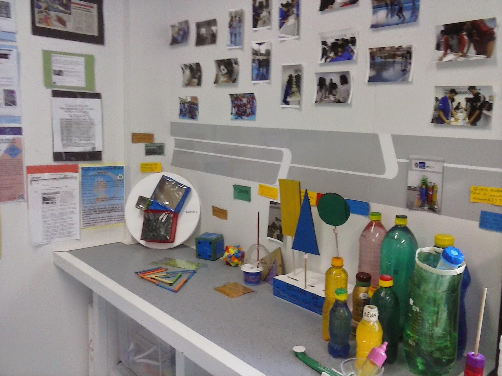 Estação 5: Nossa história e interação mediada com material concreto específico ecológico diversificado.