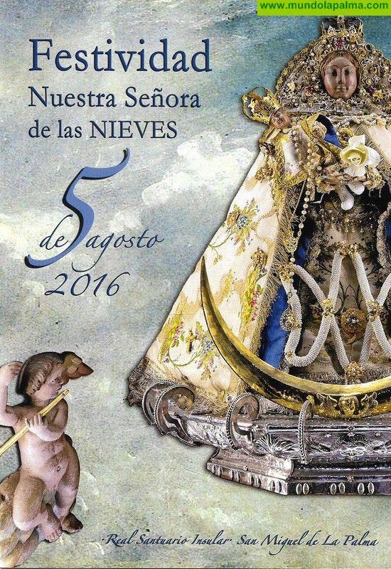 Programa Festividad de Nuestra Señora de Las Nieves 2016 - Santa Cruz de La Palma