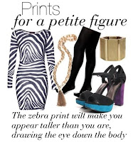 Prints For a Petite Figure @ Boo Hoo