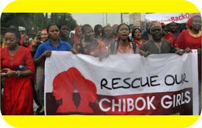 Chibok girls rally