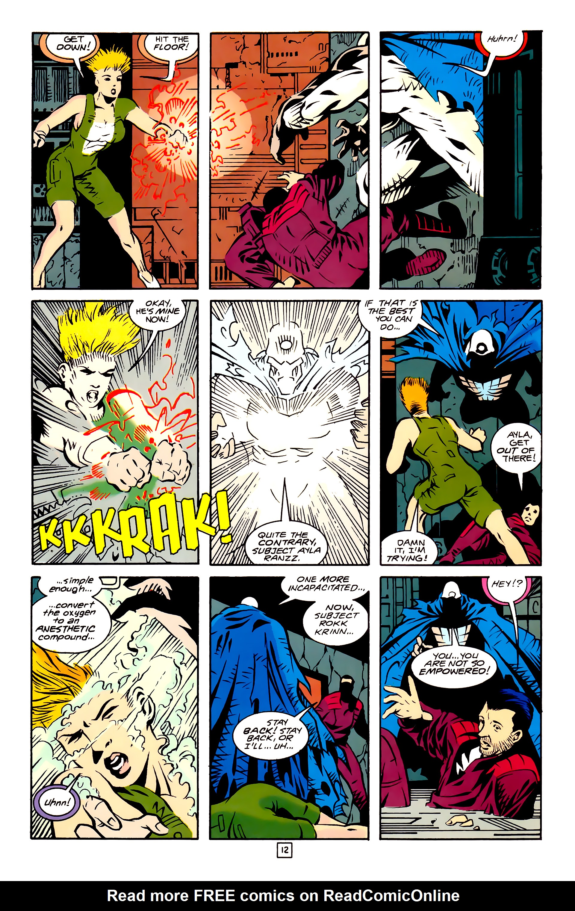 Legion of Super-Heroes (1989) 27 Page 12