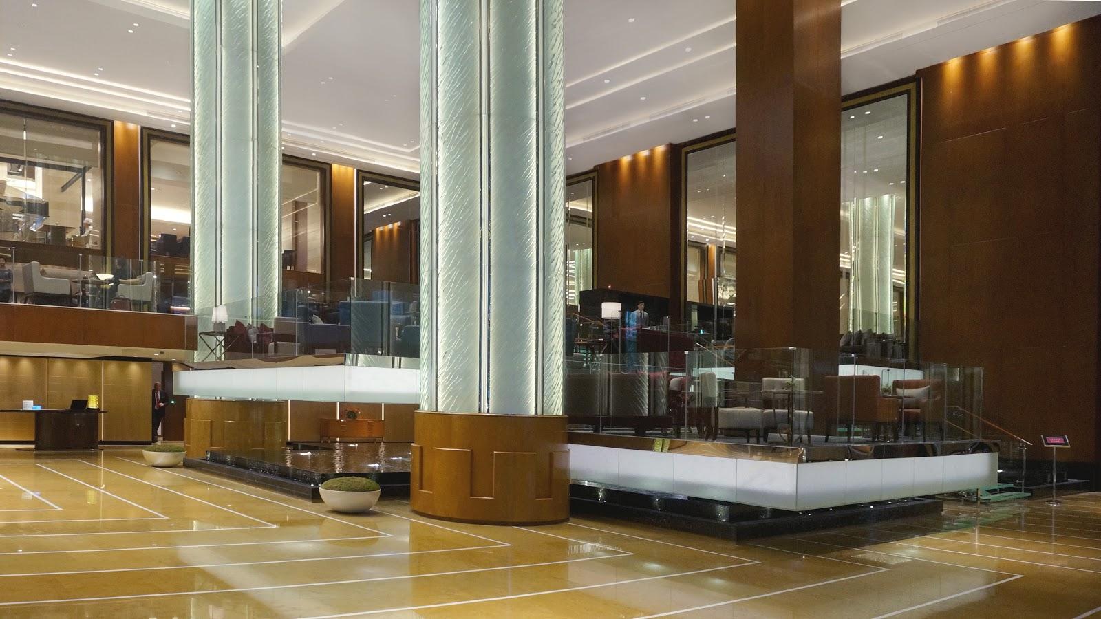 Grand Hyatt Foyer : Grand hyatt manila now open eater philippines