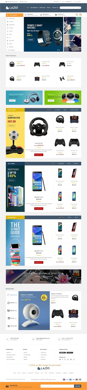 Best Multipurpose Responsive Opencart Theme