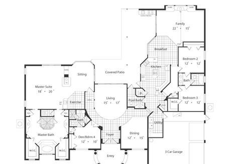 Planos casas modernas planos de casas de 120 metros cuadrados for Casa moderna 80 metros cuadrados