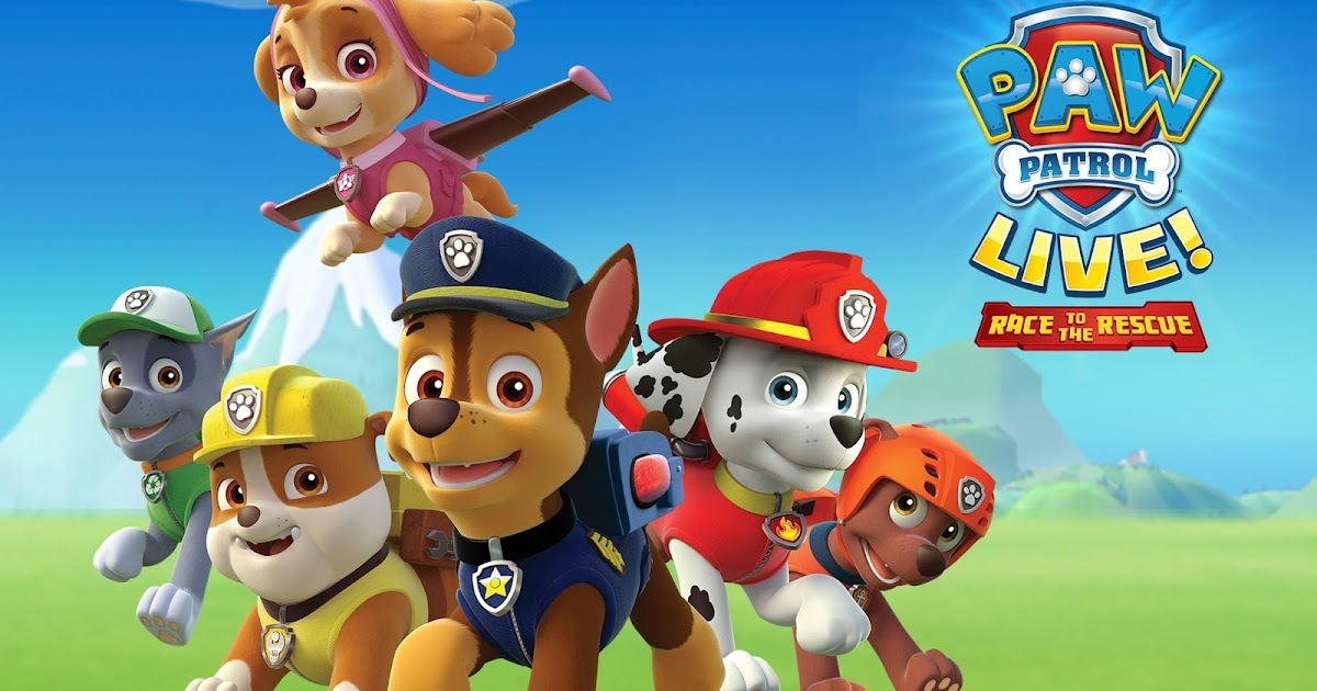 Paw Patrol Race To The Rescue Tour September