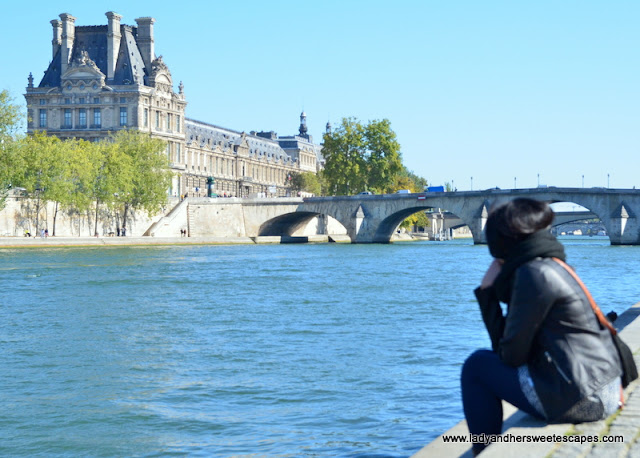 Lady at La Seine