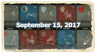 September 2017 LIBRA to PISCES Horoscope forecast.