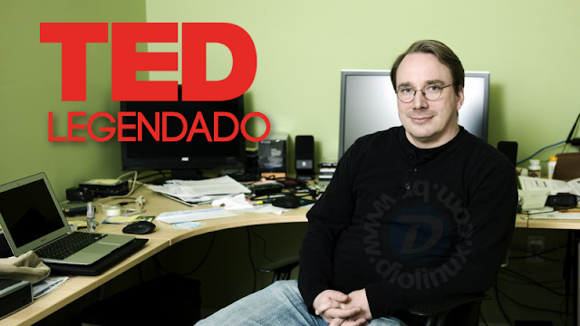 Linus Torvalds TED Talks legendado pt-br