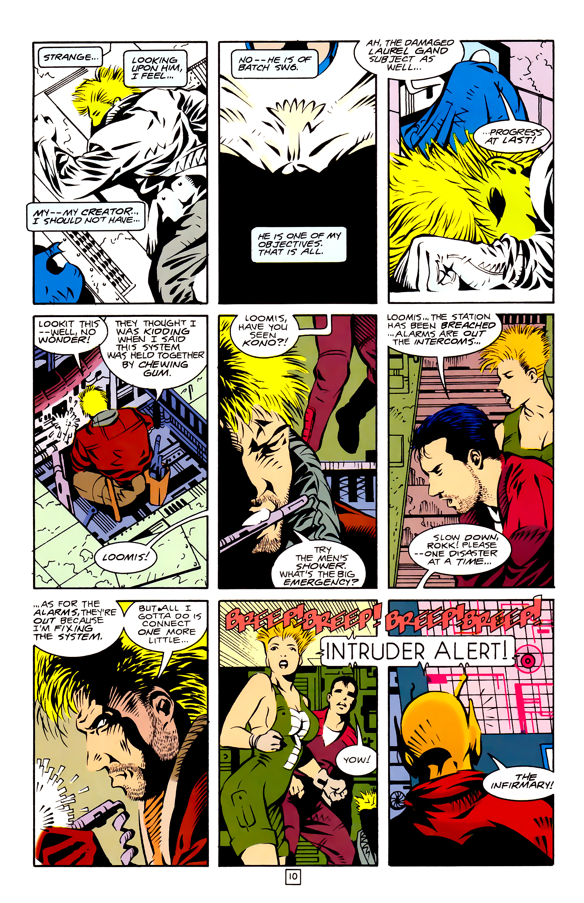 Legion of Super-Heroes (1989) 27 Page 10