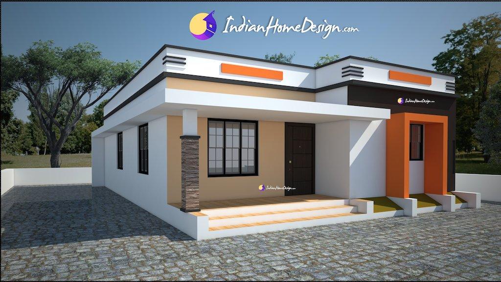 Exterior design, contemporary home design, Kerala house photos