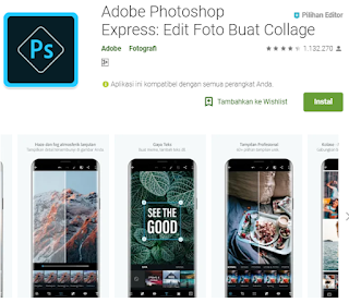 Aplikasi edit foto android seperti Photoshop PC