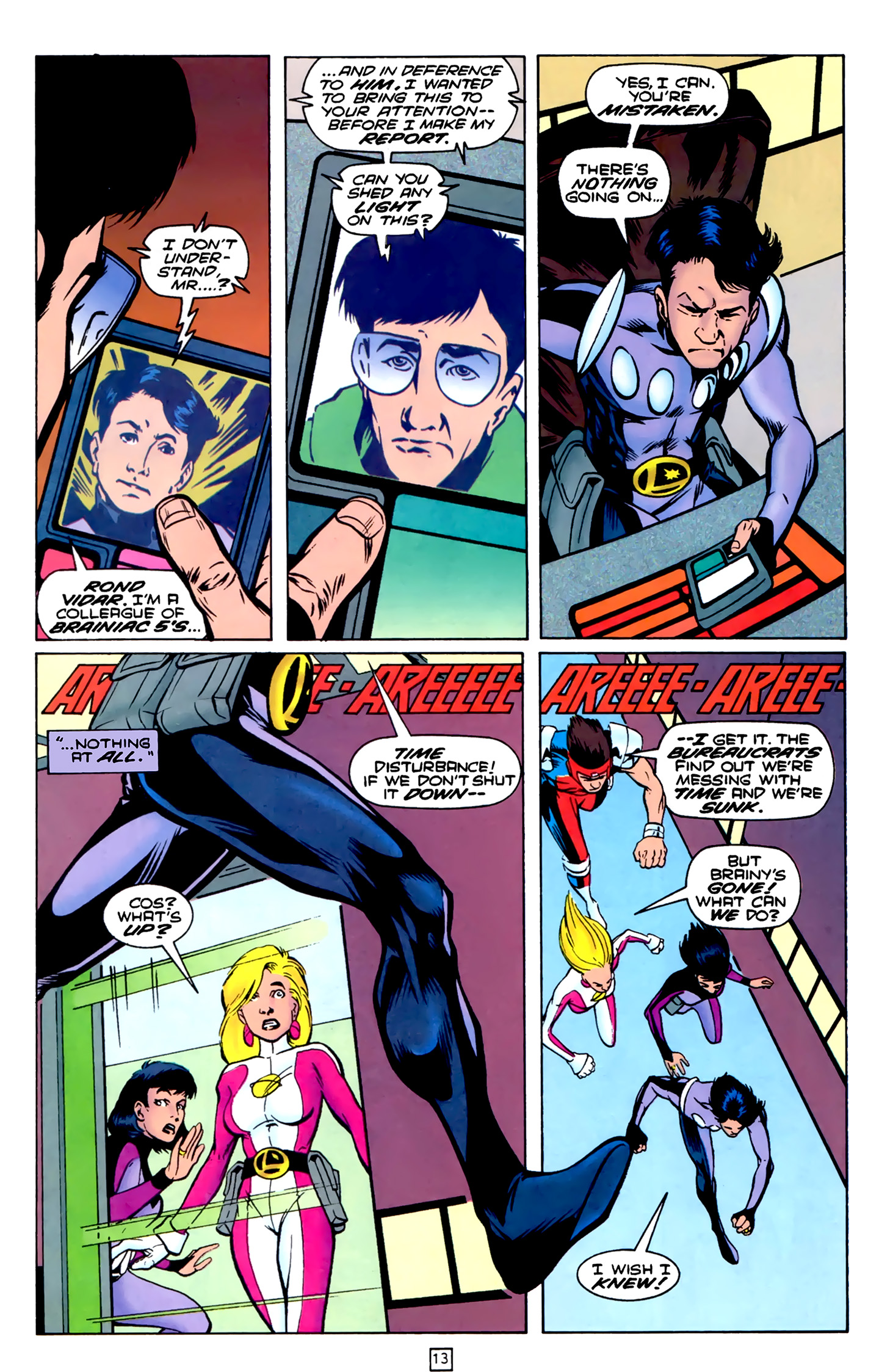 Legion of Super-Heroes (1989) 75 Page 13