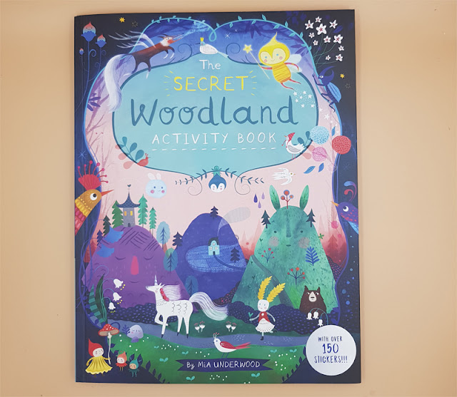 The secret woodland activity book by Mia Underwood - a magical book for any child - by RachaelJess.com
