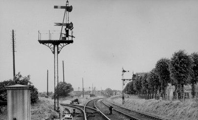Signals at triangle Stokes Bay Line