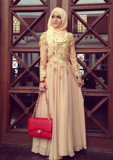 Model Kebaya Dress Pesta Muslimah