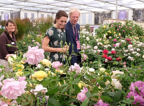 Duchess Catherine Visited Rhs Chelsea Flower Show 2017