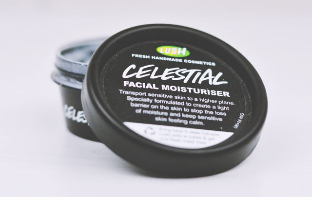 Review of Lush Celestial Facial Moisturiser