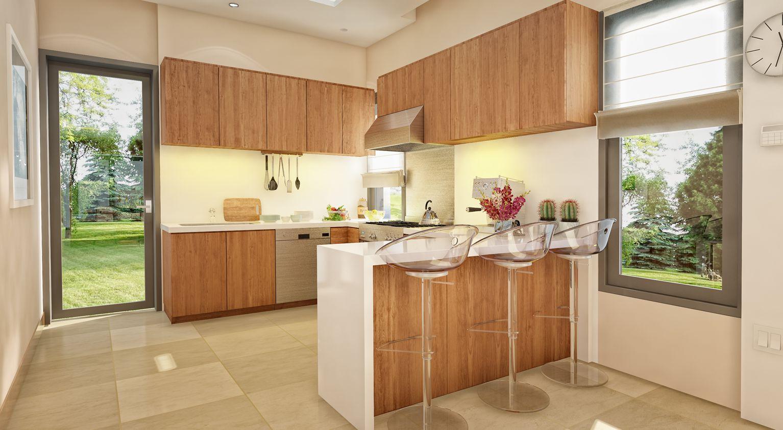 Phòng bếp biệt thự Ngọc Trai
