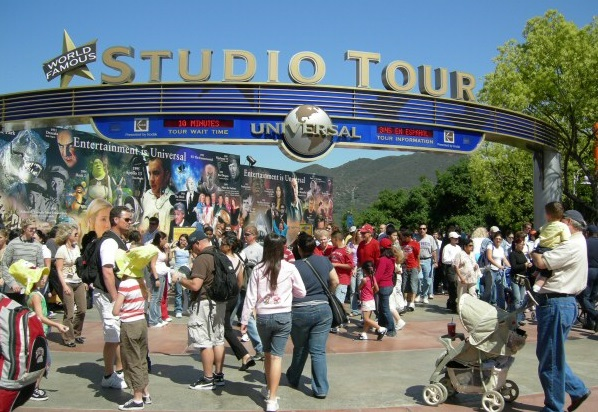 Studio Tour no Universal Studios em Los Angeles