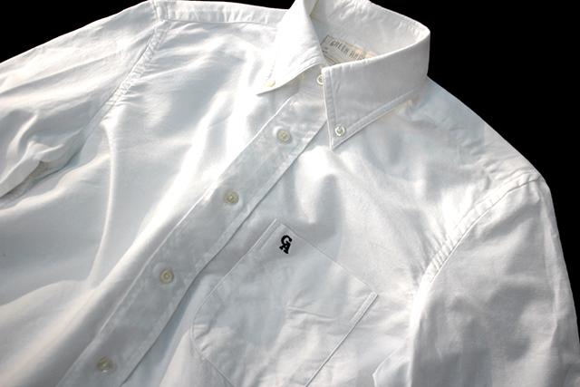 greenanglegabdshirtswhiteshirtsボタンダウンシャツ白シャツホワイトシャツstoreexclusive限定グリーンアングル