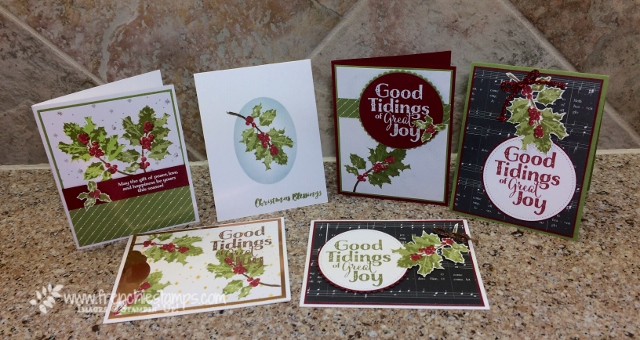 Good Tidings, Merry Music Designer Paper, Foil Paper, Stampin'Up!
