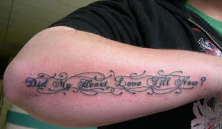 Funny Pictures Gallery Shakespeare Quote Tattoos