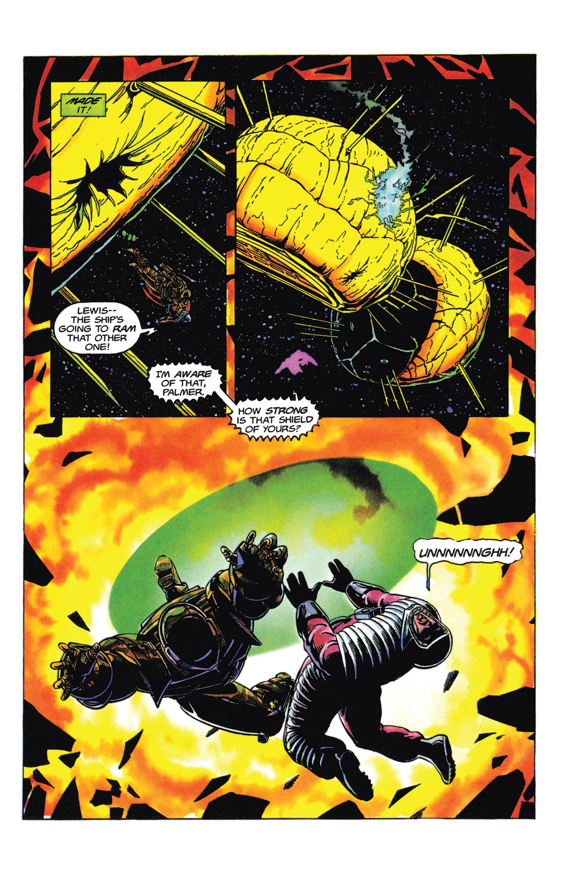 Read online Armorines comic -  Issue #5 - 17