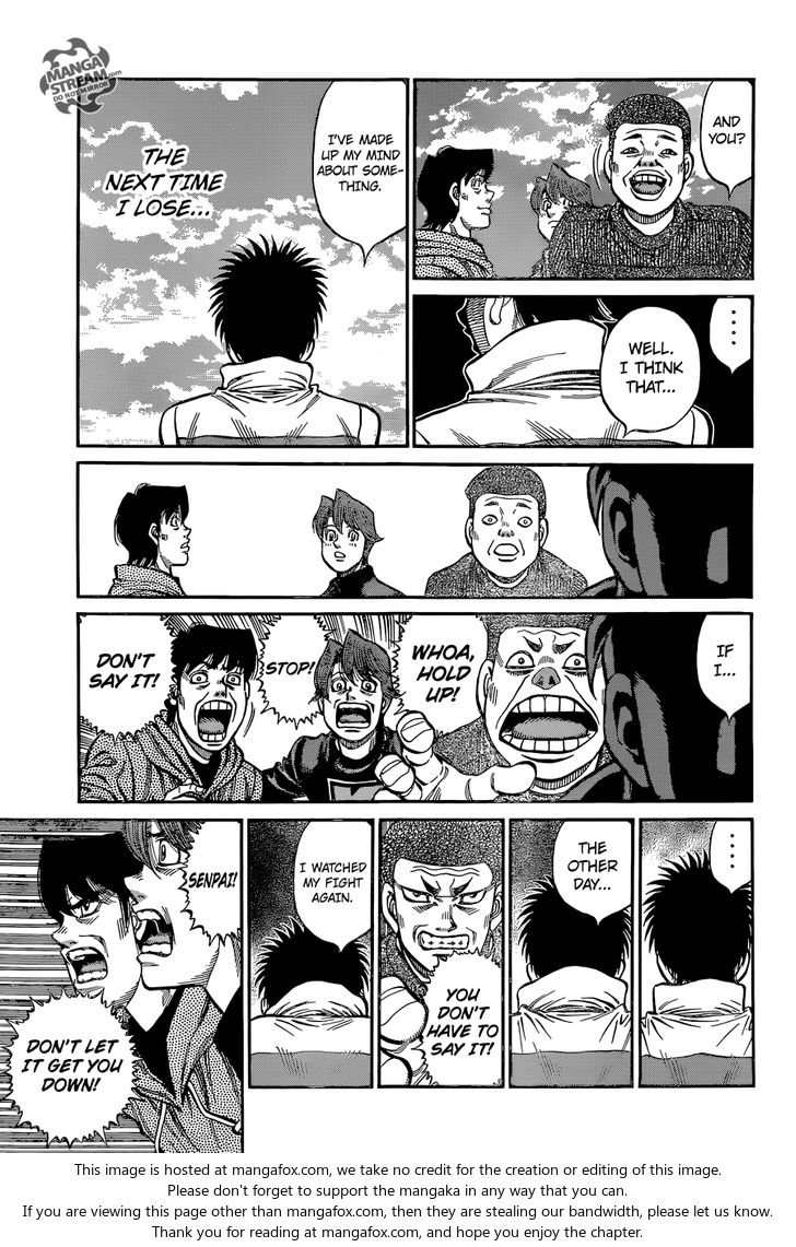 Hajime no Ippo - Chapter 1124