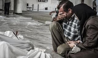 Mengenang Tragedi Pembantaian Paling Mematikan Abad 21, Rezim Syiah Suriah Tumpahkan 1.000 Kg Gas Sarin ke Warga