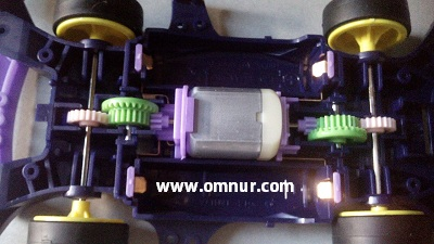 Memasang Motor Avante MK III Japanese Cup 2015 Limited Edition
