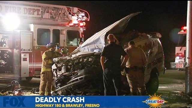 joseph ferguson fatality fresno car crash highway 180 Brawley avenue