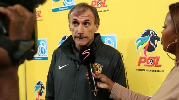 Kaizer Chiefs coach Giovanni Solinas
