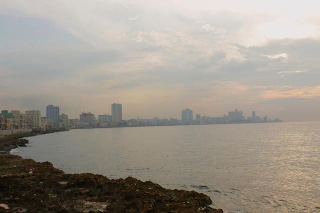 La Habana vista desde el Malecón