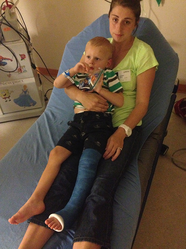 Taking a sick child to urgent care or the ER?