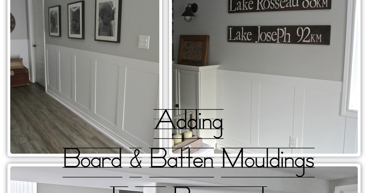 2Perfection Decor: Basement Wainscoting Reveal