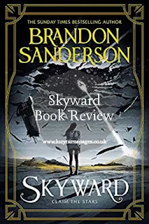audible, audiobook, book recommendations, book review, book reviews, brandon sanderson, sci-fi, science fiction, skyward, ya, ya sci-fi, young adult,