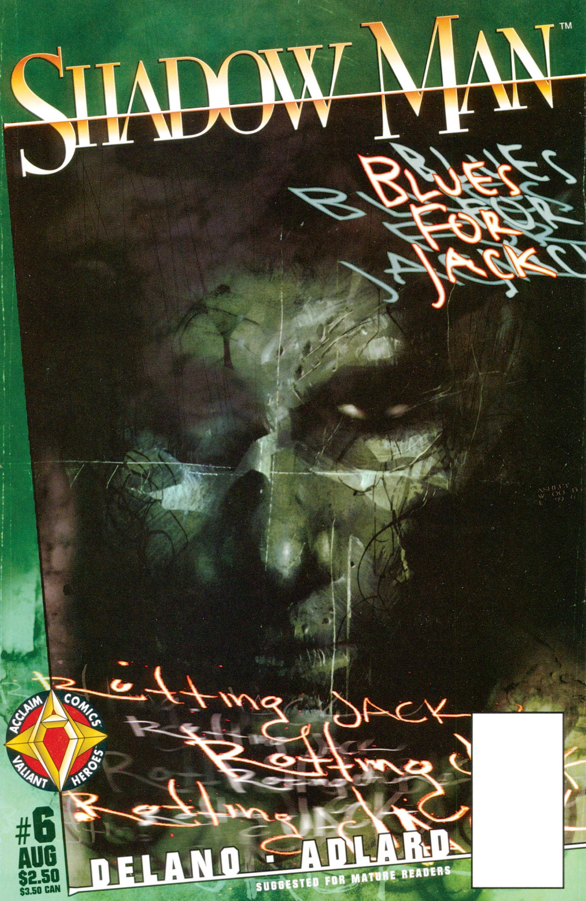 Read online Shadowman (1997) comic -  Issue #6 - 1