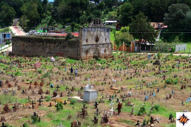 San Juan Chamula, cimitero
