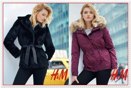 H&M Wintermantel für Damen 2015