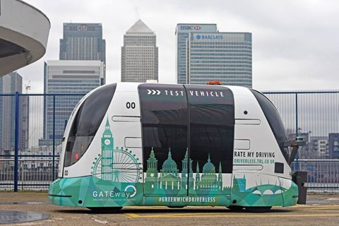 First self-driving vehicles take to the streets of London