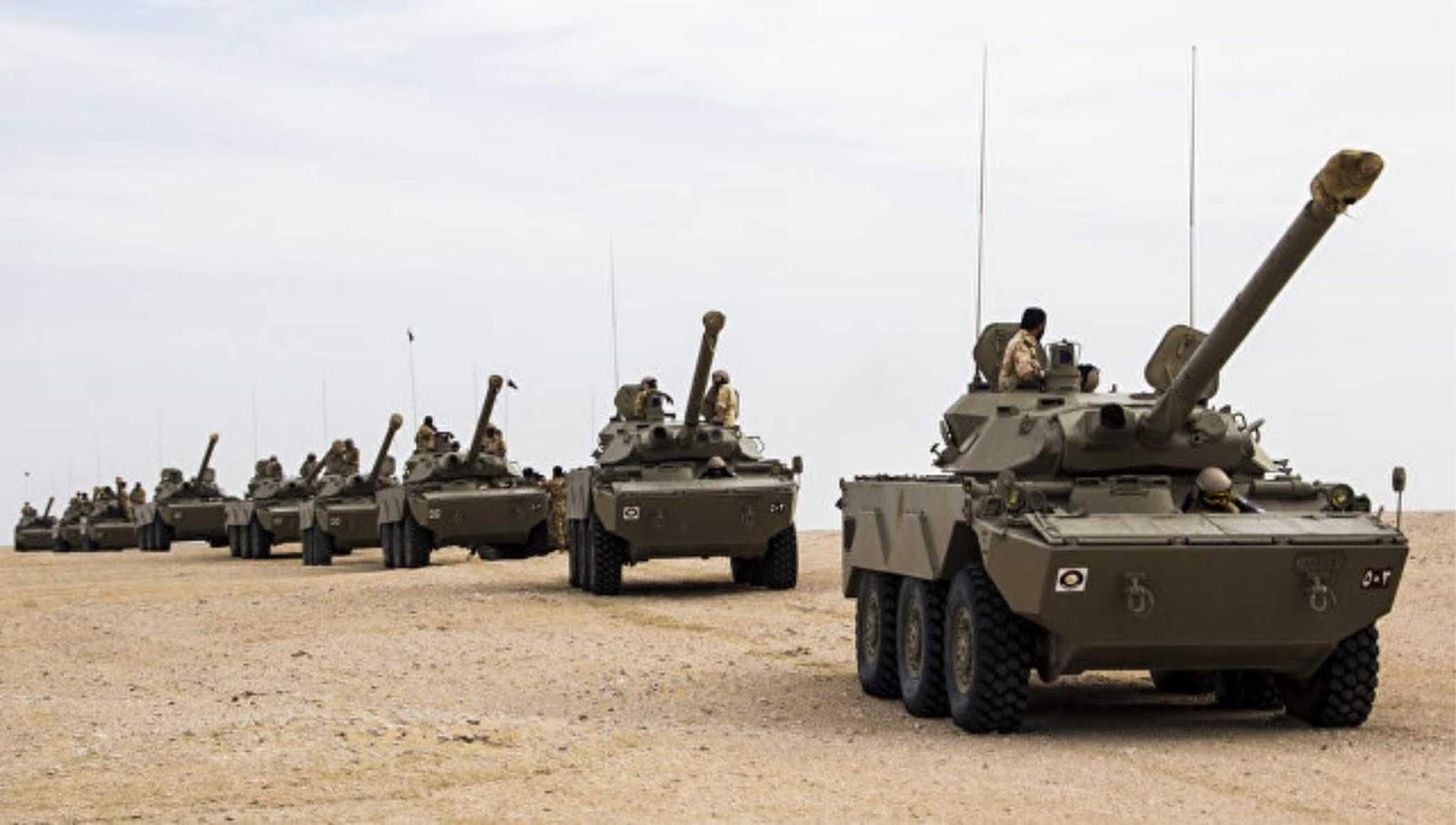 Qatar menggandakan upaya untuk membangun kemampuan pertahanan