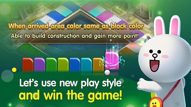 Game Monopoli Online Android Terbaik LINE Let's Get Rich Mod Apk