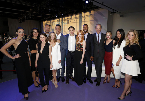 PLL actresses at Freeform 2016 Upfront in NYC