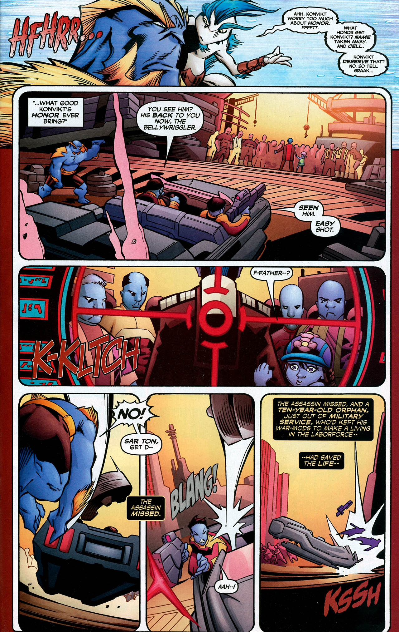 Read online Trinity (2008) comic -  Issue #17 - 21