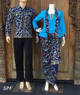Model Baju Couple Batik Lengan Panjang Untuk Remaja Modern