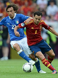 Pirlo in action