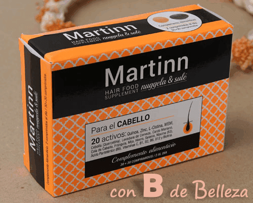 Complemento alimenticio pelo Martinn