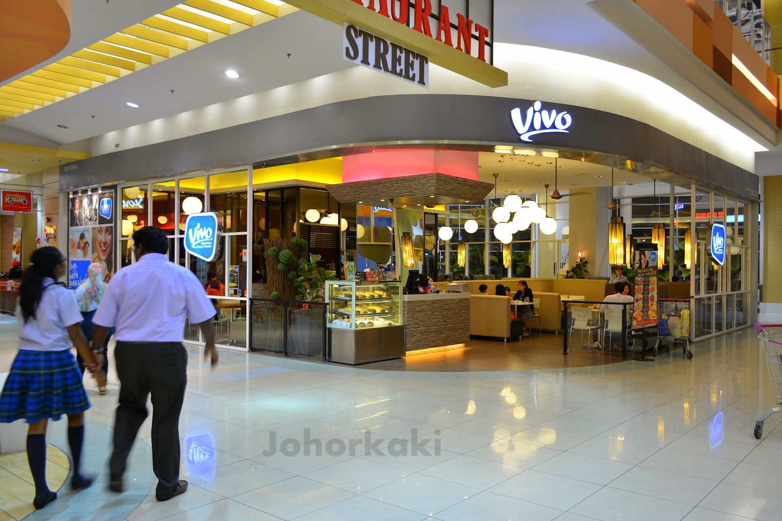 Vivo american pizza panini at aeon jusco mall bukit for I kitchen bukit indah
