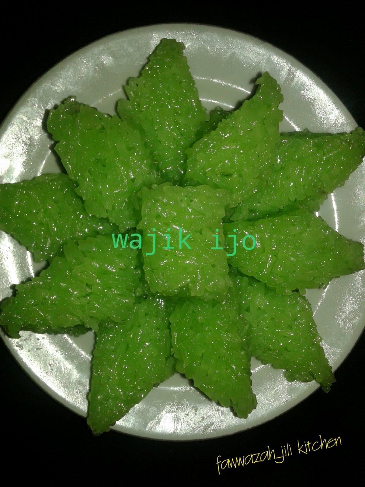 Ncc Weeks Masakan Ibu Wajik Ijo By Winda Mayehan